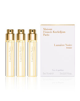 Lumiere Noire Femme Spray, 3 Refills, 0.37 oz. each