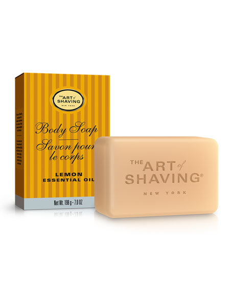 The Art of Shaving Lemon Body Soap, 7 oz.