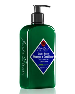 Double-Header Shampoo+Conditioner, 16 oz.