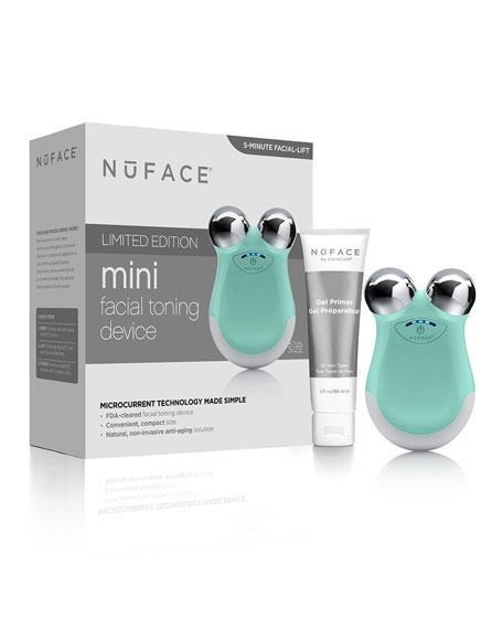 NuFace Mini Facial Toning Device-Caribbean Sea