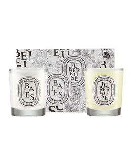 Baies & Tubereuse Candle Duo, 70g each