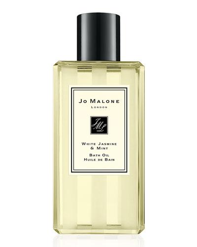 White Jasmine & Mint Bath Oil, 8.5 oz.