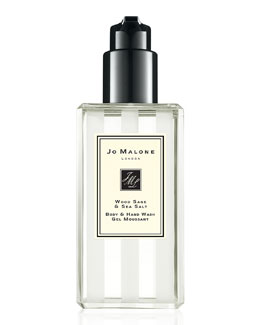Wood Sage & Sea Salt Body & Hand Wash, 250 mL