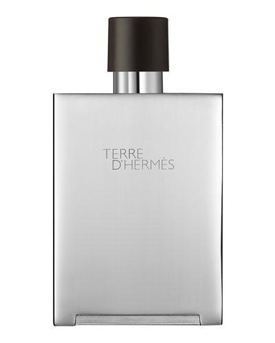 Terre d'Hermès  Eau de Toilette Bel Objet Metal Refillable Spray, 5 oz.