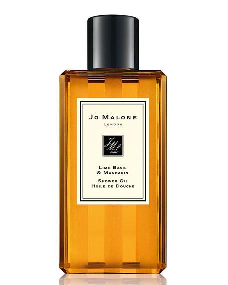 Lime Basil & Mandarin Shower Oil