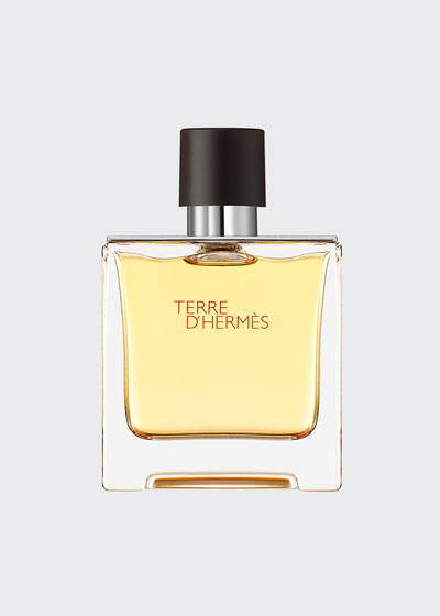 Terre d'Hermès – Pure perfume natural spray, 2.5 oz