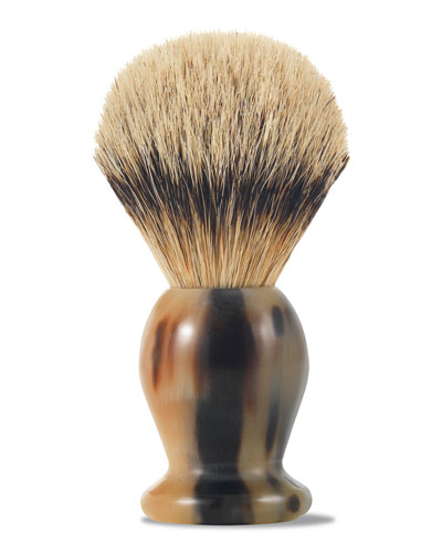 Horn Fine Shaving Brush