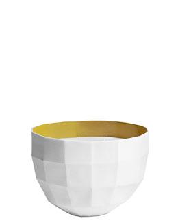 Rêverie Champ libre, Perfumed candle bowl, Sulphur colour, large model, 1100g