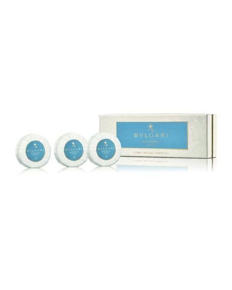BVLGARI Eau Parfumée Au Thé Bleu Soap Set,