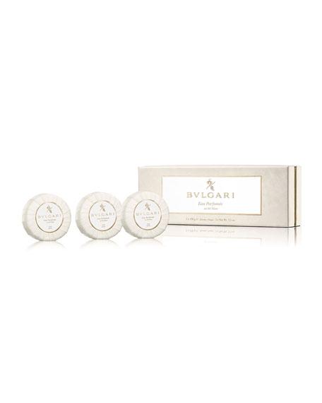 Eau Parfumée Au Thé Blanc Soap Set, 3 x 150 g