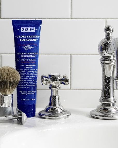 """Close-Shavers"" Squadron Ultimate Brushless Shave Cream, White Eagle, 8.0 oz."