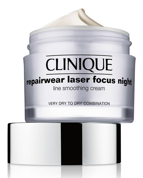 Repairwear Laser Focus Night Line Smoothing Cream - Very Dry to Dry Combination, 1.7 oz.