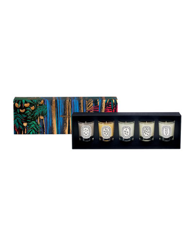 5 Mini Candle Set, 35g each