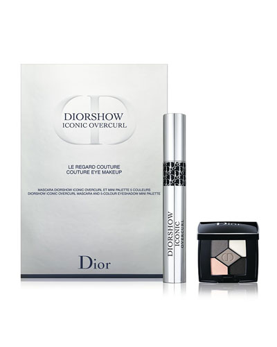 Limited Edition Diorshow Iconic Overcurl Mascara and 5-Colour Eyeshadow Mini Palette