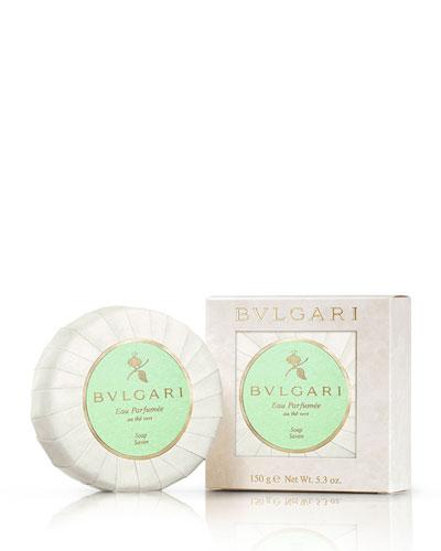 Eau Parfumée Au thé Vert Deluxe Soap w/ Dish, 5.3oz