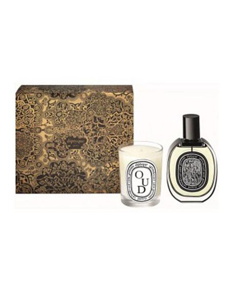 Oud Scented Candle and Eau de Parfum Gift Set