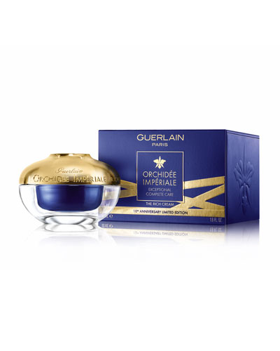 Limited Edition 10th Anniversary Orchidée Impériale Rich Cream, 1.6 oz.