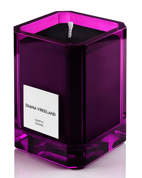 Diana Vreeland Simply Divine Scented Candle