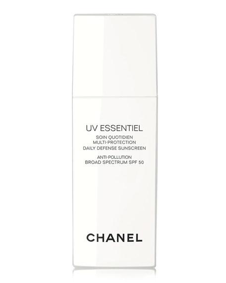 <B>UV ESSENTIEL</b><BR> Multi-Protection Daily Defense Sunscreen Anti-Pollution Broad Spectrum SPF 50, 1.0 oz.
