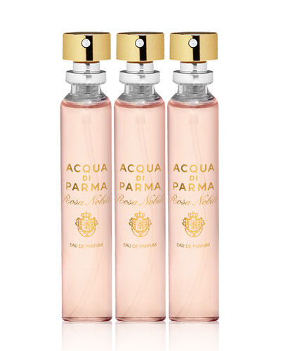 Rosa Nobile Eau de Parfum Special Edition Refills, 3 x 20 mL