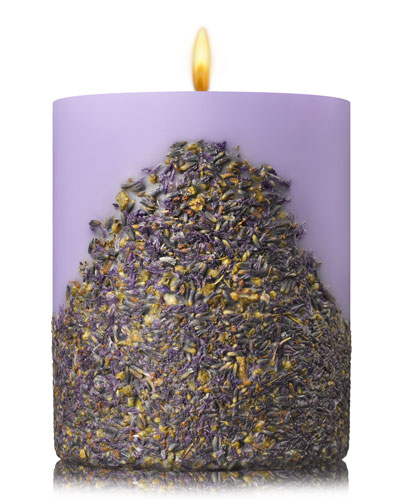 Lavender Fruit and Flower Candle