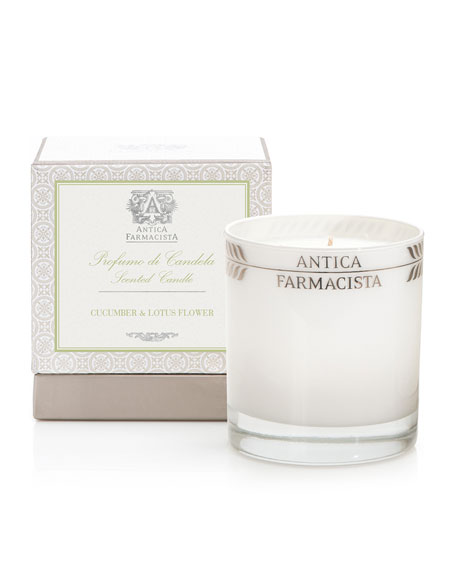 Antica Farmacista Cucumber & Lotus Flower Candle