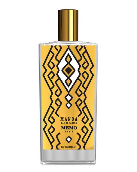 Memo Paris Manoa Eau de Parfum, 75 mL
