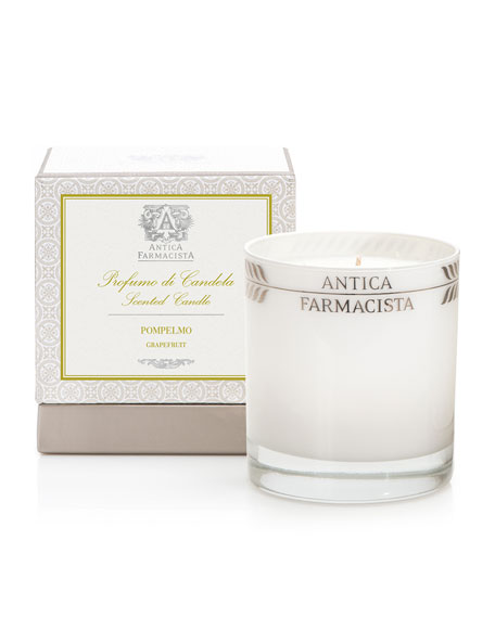 Antica Farmacista Grapefruit Round Candle, 9 oz.