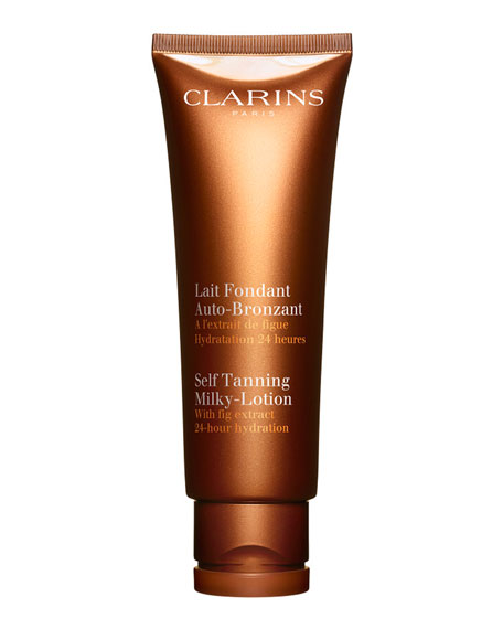 Self Tanning Milky-Lotion For Face and Body, 4.2 oz.