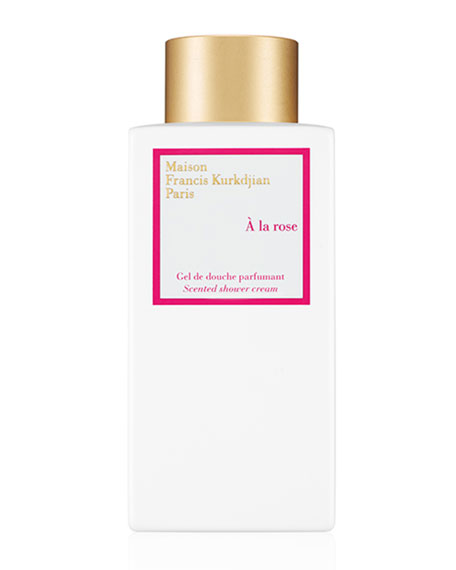 À la rose Scented Shower Cream, 8.5 oz.