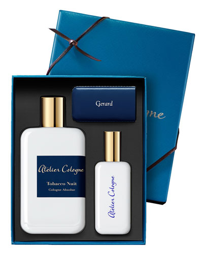 Tobacco Nuit Cologne Absolue, 200 mL with Personalized Travel Spray, 1.0 oz./ 30 mL