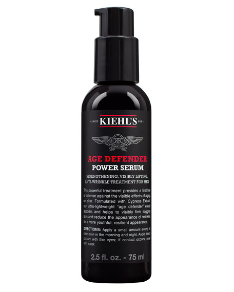 Age Defender Power Serum for Men, 2.5 oz.