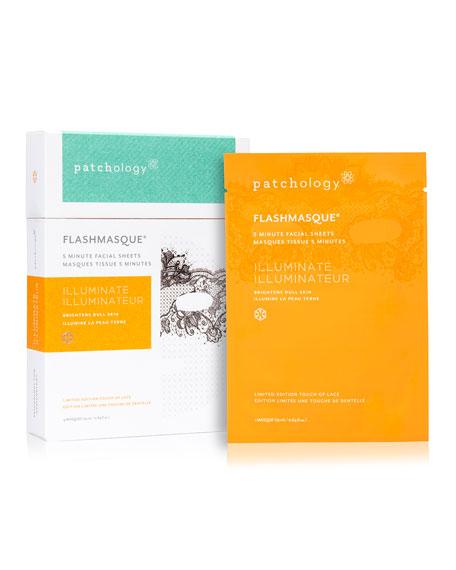 FlashMasque Illuminate Lace Print, 4-Pack