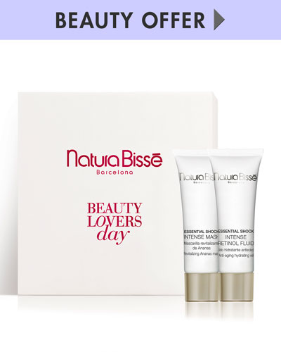 Yours with any $150 or more Natura Bisse purchase—Online only*
