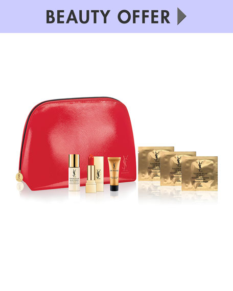 Receive a free 7-piece bonus gift with your $200 Yves Saint Laurent purchase