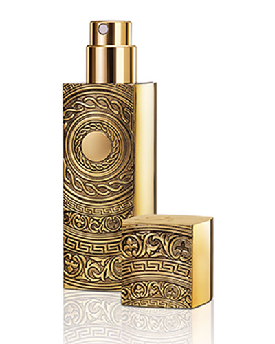 Empty Gold Refillable Travel Spray