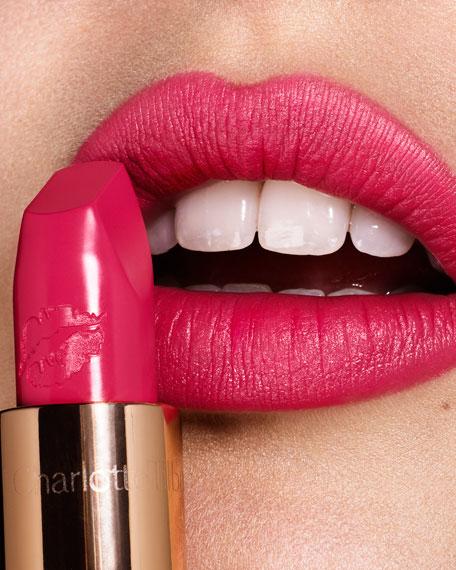 Hot Lips Lipstick, Electric Poppy