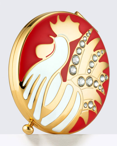 Limited Edition Year Of The Rooster Powder Compact