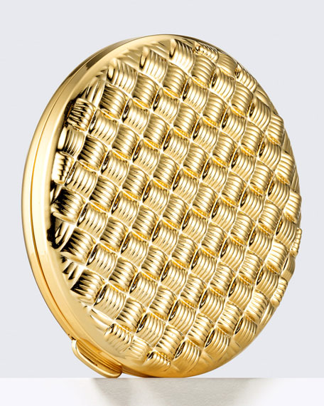 Estee Lauder Limited Edition Golden Weave Powder Compact
