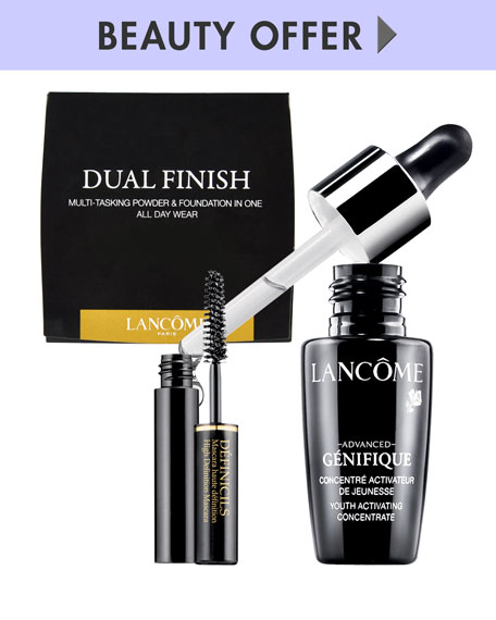 Receive a free 3piece bonus gift with your $75 Lancôme purchase