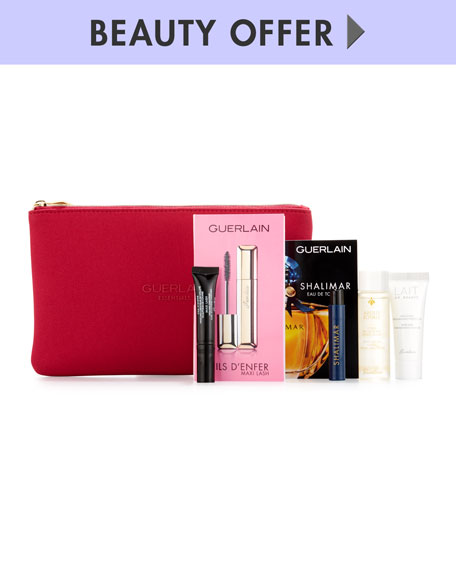 Receive a free 5-piece bonus gift with your $250 Guerlain purchase