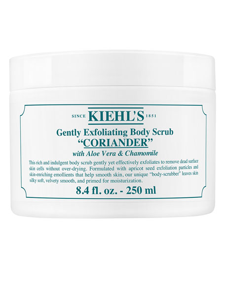 Kiehl's Since 1851 Coriander Gently Exfoliating Body Scrub.