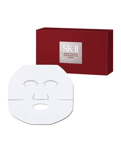 Brightening Derm-Revival Mask, 10 Sheets