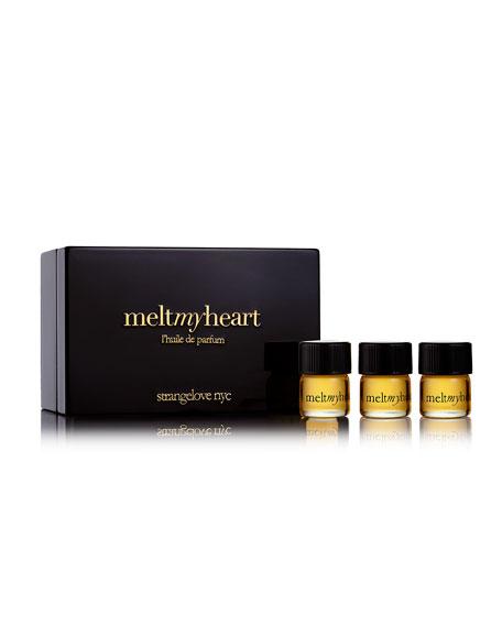 meltmyheart refill set, 3 x 1.25 ml