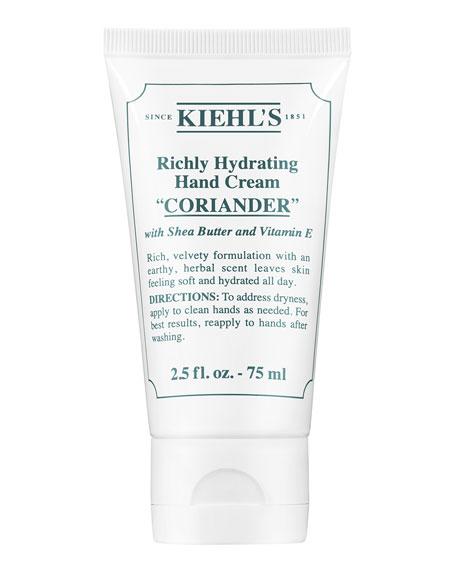 Kiehl's Since 1851 Coriander Scented Hand Cream, 75
