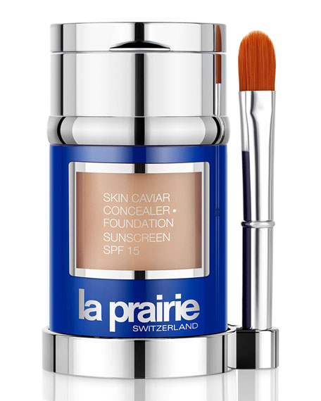 La Prairie Skin Caviar Concealer · Foundation Sunscreen