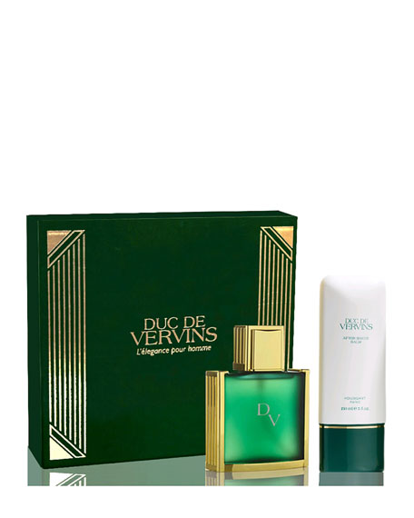 Houbigant Paris Duc De Vervins Boxed Fragrance Gift