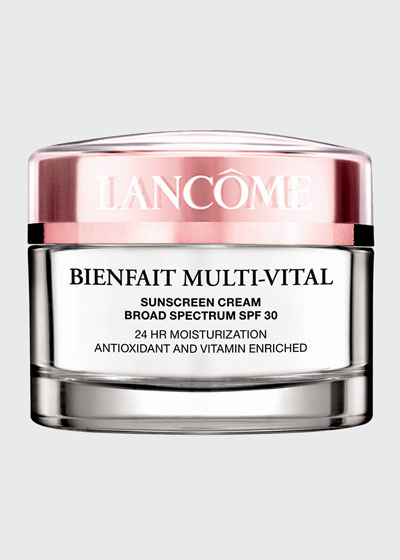 Bienfait Multi-Vital SPF 20 Day Cream 23-Hour Antioxidant and Vitamin Enriched Broad Spectrum SPF 30 Sunscreen & Moisturizer, 1.7 oz./ 50 mL