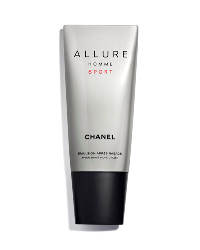<b>ALLURE HOMME SPORT</b><br>After Shave Moisturizer, 3.4 oz.