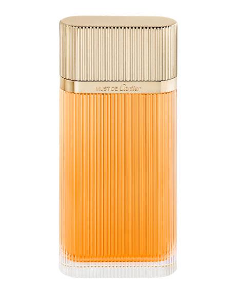 Must de Cartier Eau de Toilette, 3.3 oz./ 100 mL